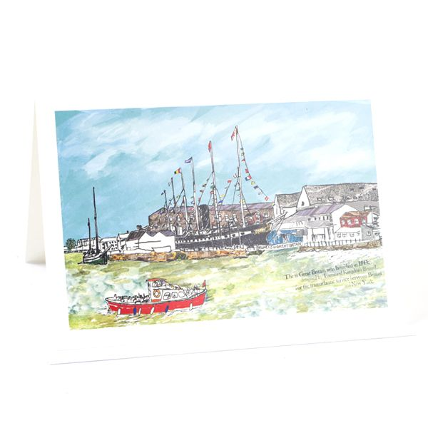 SS Great Britain Bristol Greetings Card