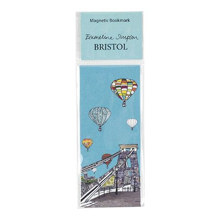 Balloons over the Toll Bridge Magnetic Bookmark