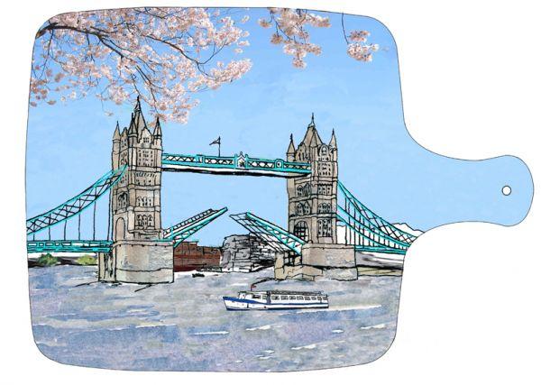 Tower Bridge London Chopping board