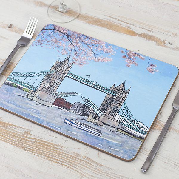 Tower Bridge London Placemat