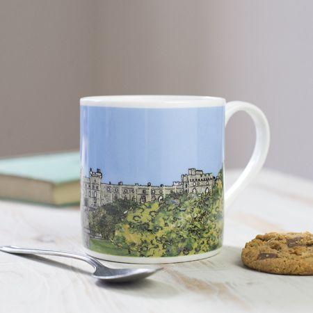 Windsor Castle London Bone China Mug