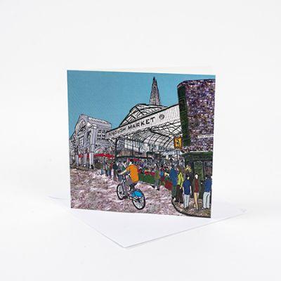 Borough Market Greetings Card
