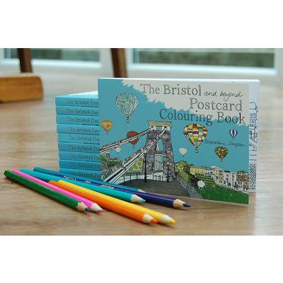 Bristol Postcard Colouring Book
