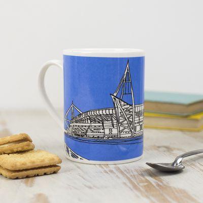 Cardiff Principality Stadium Mug, Blue