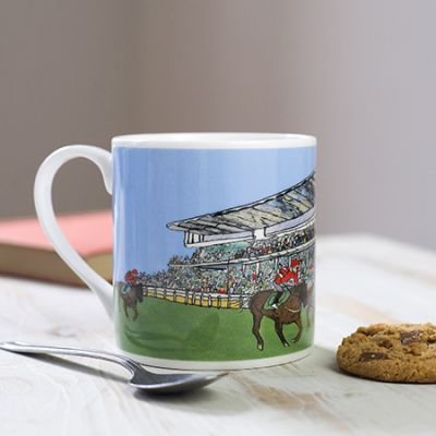 Cheltenham Racecourse Bone China Mug