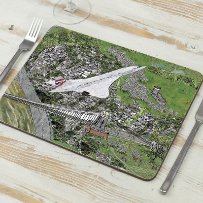 Concorde's Last Flight Placemat