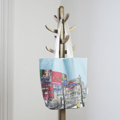 Piccadilly Circus Tote Bag