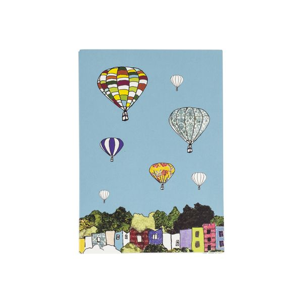 Pack of 8 Balloons Notecards