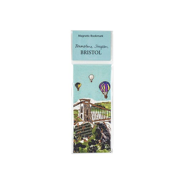 Balloons over the Bridge Magnetic Bookmark
