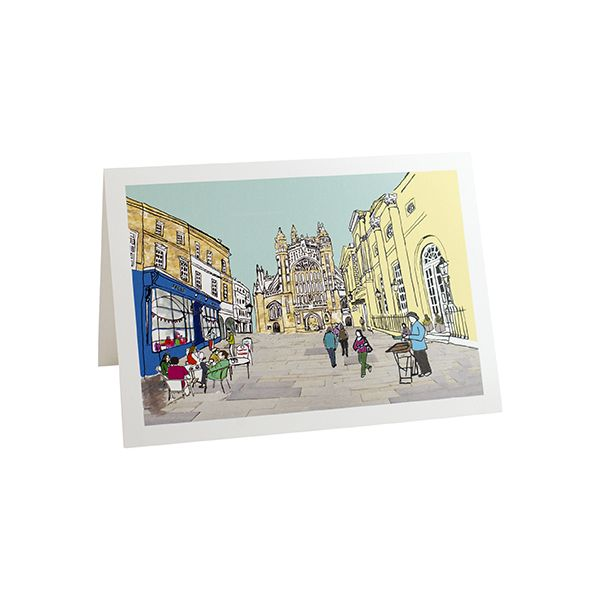 Bath Abbey Greetings Card