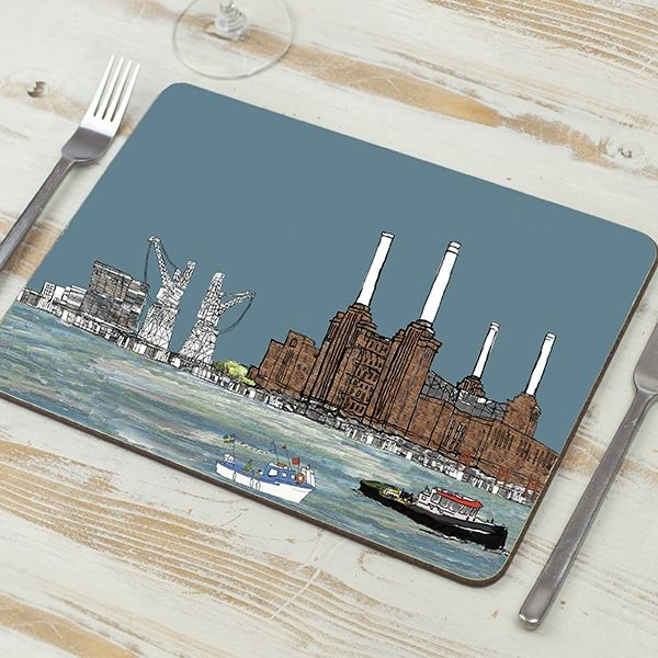 Battersea Power Station, London Placemat