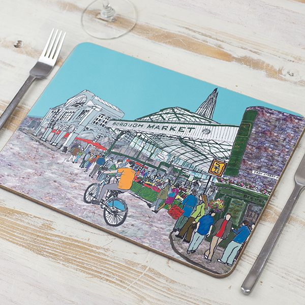 Borough Market London Placemat