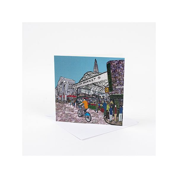 Borough Market Greetings Card