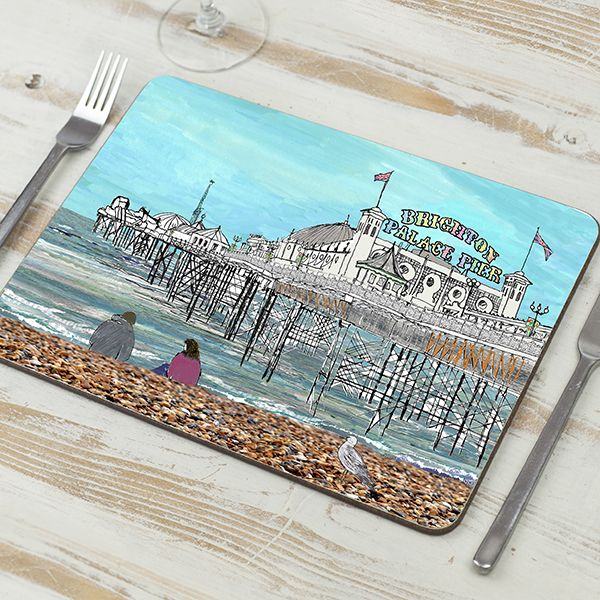 'Palace Pier' Brighton Placemat