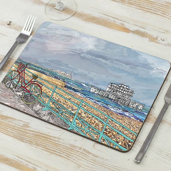 'West Pier' Brighton Placemat