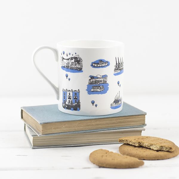 Bristol Boats  Bone China Mug
