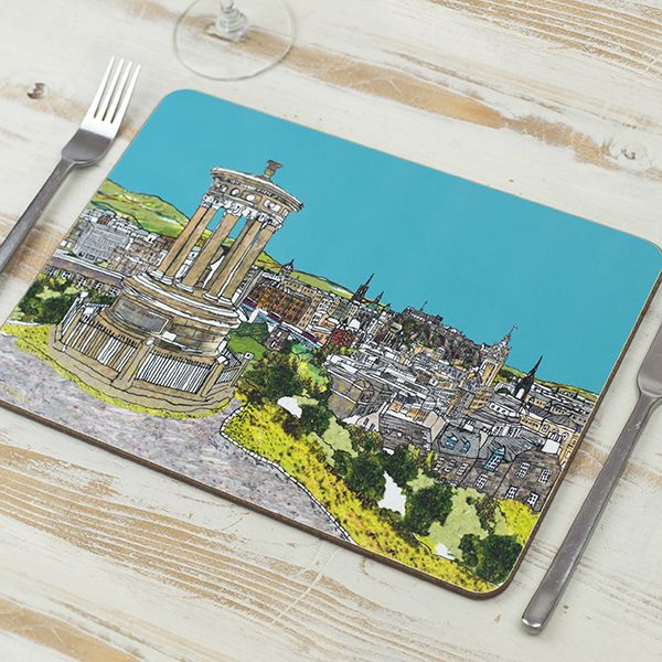Calton Hill, Edinburgh Placemat