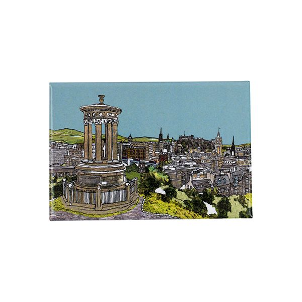 Calton Hill, Edinburgh Fridge Magnet