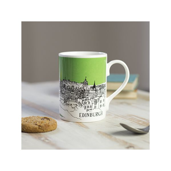 Edinburgh Mug Green