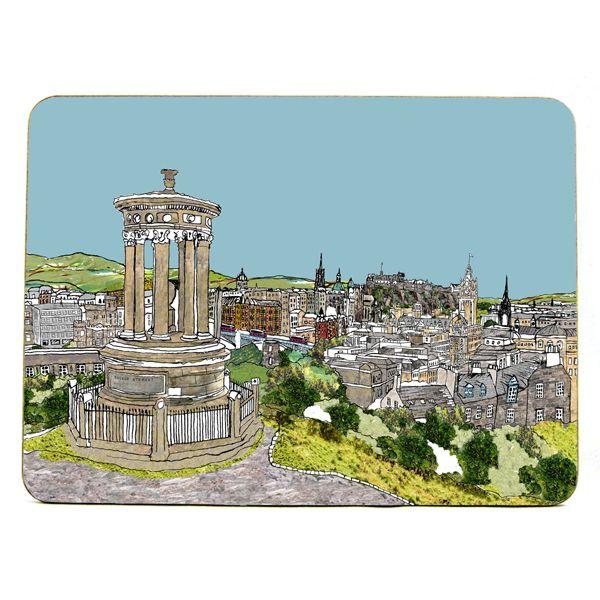 Calton Hill, Edinburgh Placemat