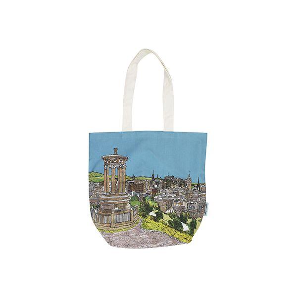 Edinburgh 'Calton Hill' Tote Bag