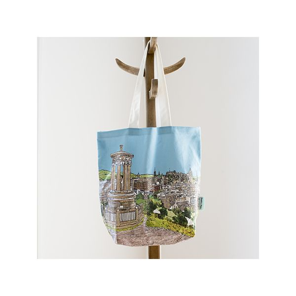 Edinburgh 'Calton Hill' Tote Bag