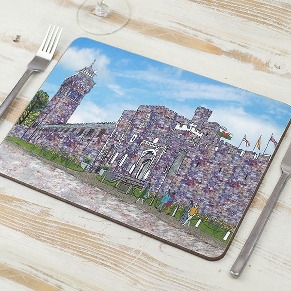 Set of Four Cardiff Placemats