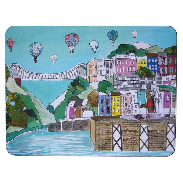 Clifton Balloons Bristol Extra Large Placemat