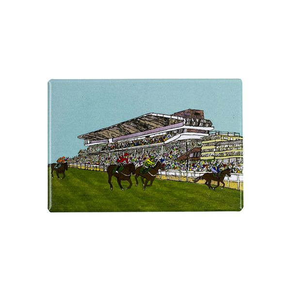 Cheltenham Racecourse Fridge Magnet
