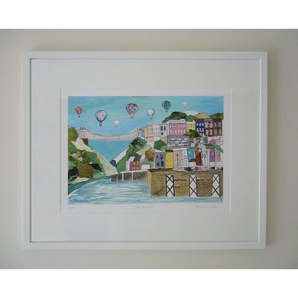 Clifton Balloons Limited Edition Bristol Print
