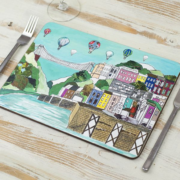 Clifton Balloons Bristol Placemat