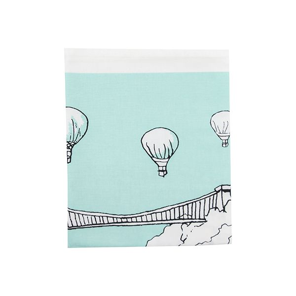 Clifton Balloons Bristol Tea Towel Aqua
