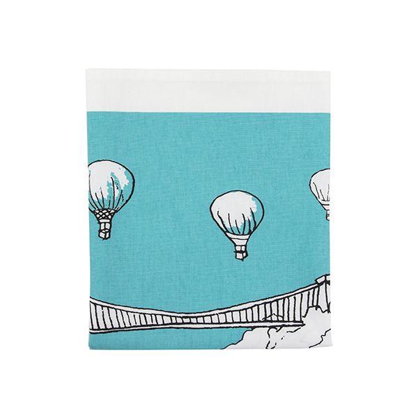Clifton Balloons Bristol Tea Towel Teal