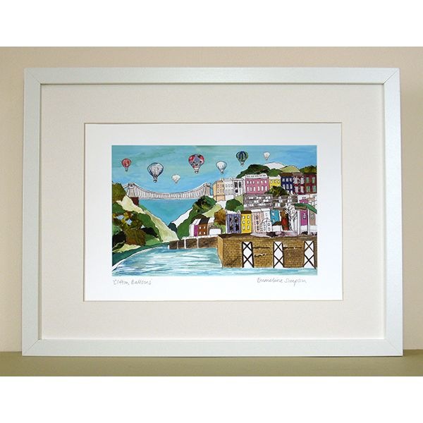 Clifton Balloons Personalised Bristol Print