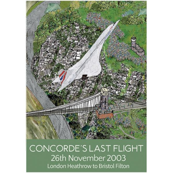 Concorde's Last Flight A3 Poster Print
