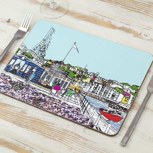 Dockyard Cafe Bristol Placemat