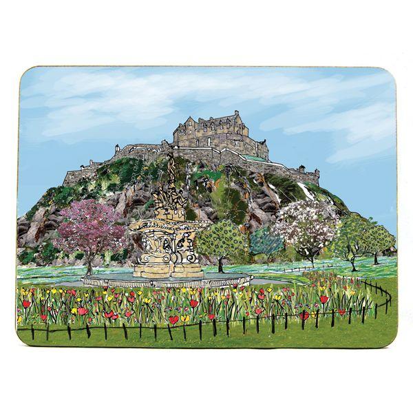 Edinburgh Castle Placemat