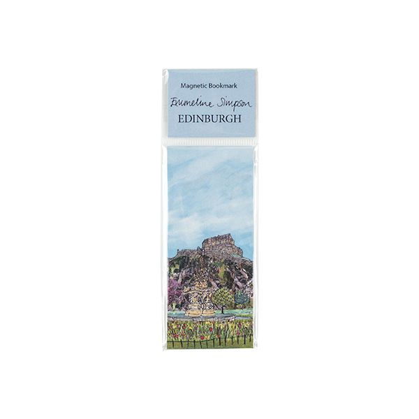Edinburgh Castle Magnetic Bookmark