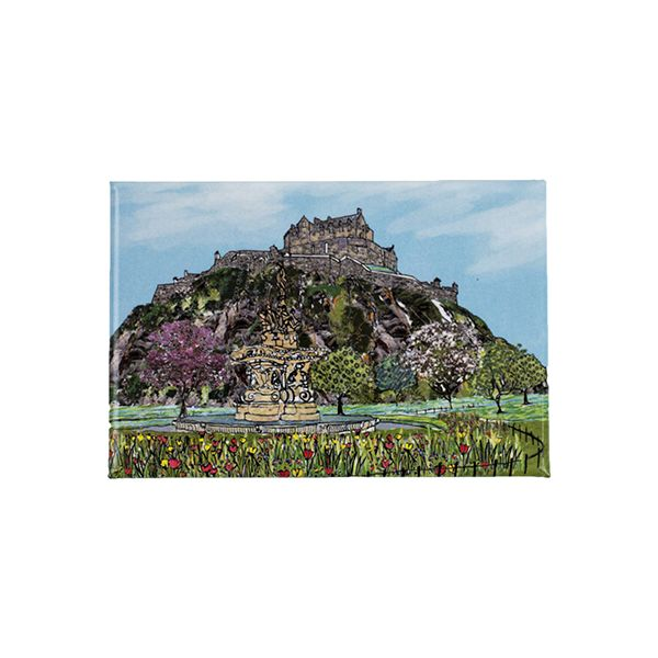 Edinburgh Castle Fridge Magnet