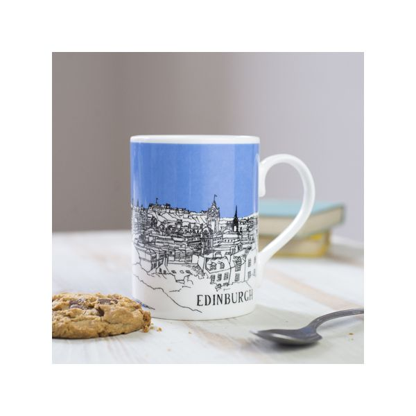 Edinburgh Mug Blue