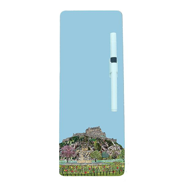 Edinburgh Castle Magnetic Memo Board