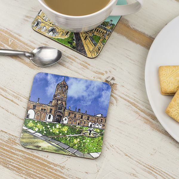 Christ Church Quad Oxford Coaster