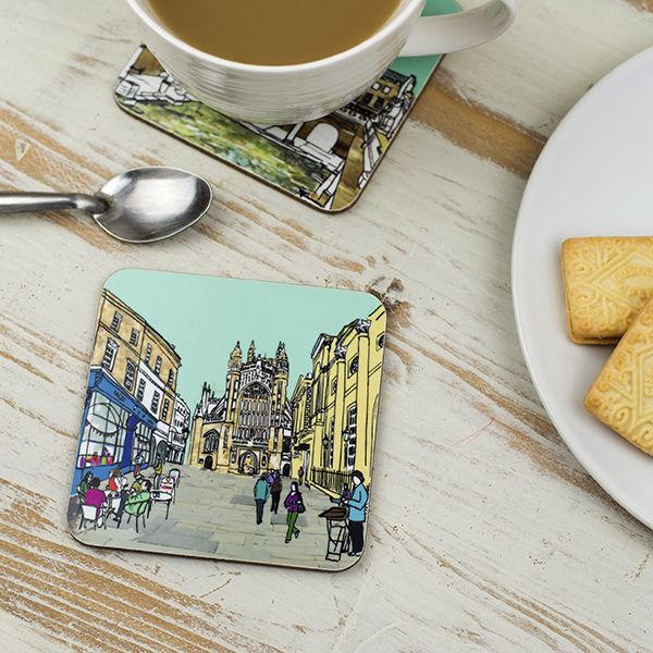 Bath Abbey Coaster