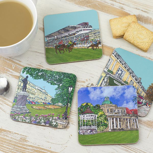 Set of Four Cheltenham Coasters