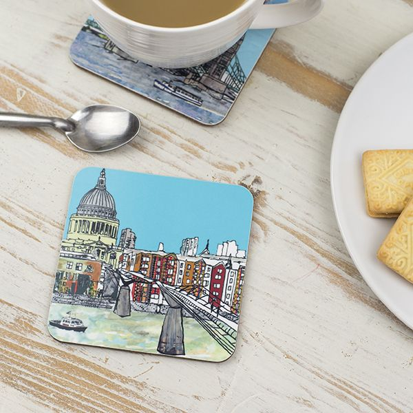 Millennium Bridge London Coaster