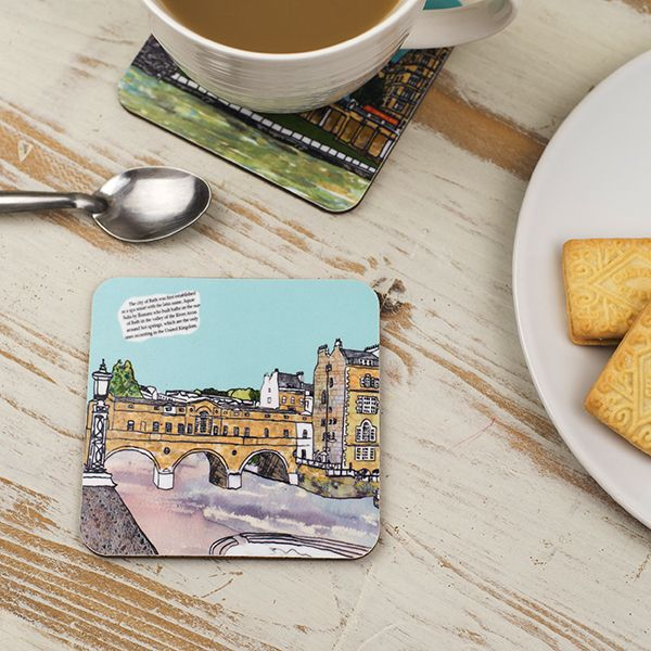 Pulteney Bridge Bath Coaster