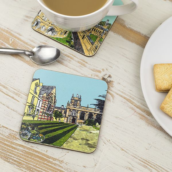 Trinity College Oxford Coaster
