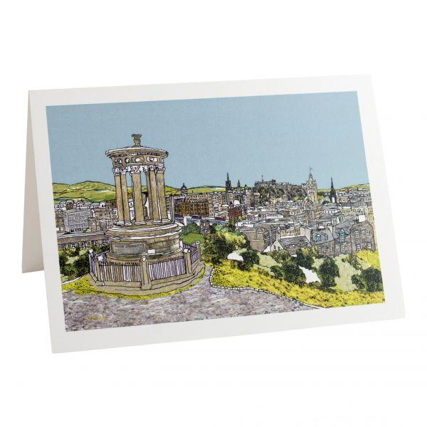 Edinburgh, Calton Hill Greetings Card