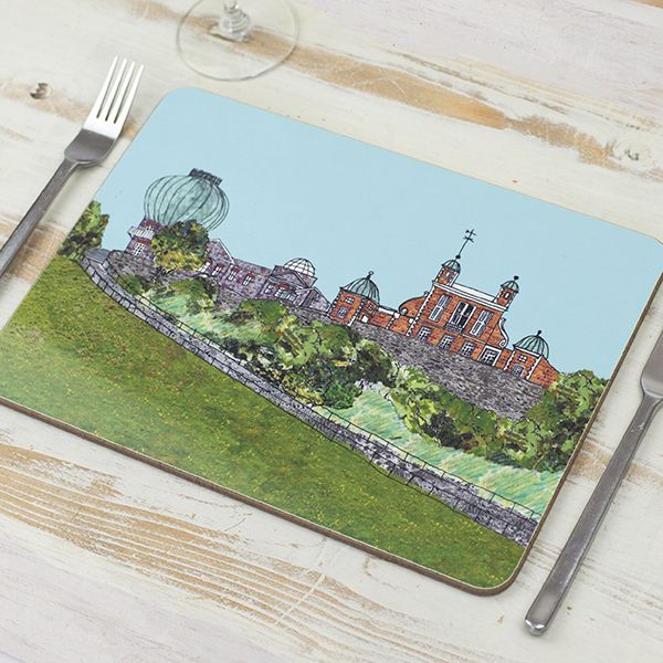 Greenwich Observatory London Placemat