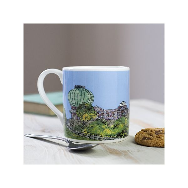 Greenwich Observatory London Bone China Mug